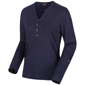 Regatta FFlur LS Shirt Women navy